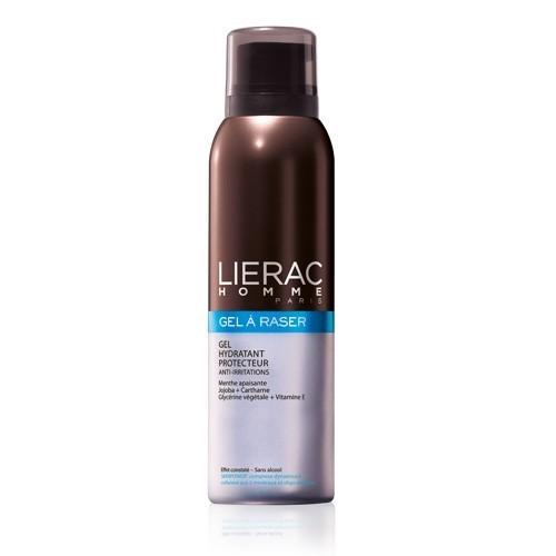 lierac homme gel a raser hydratant protecteur anti irritations