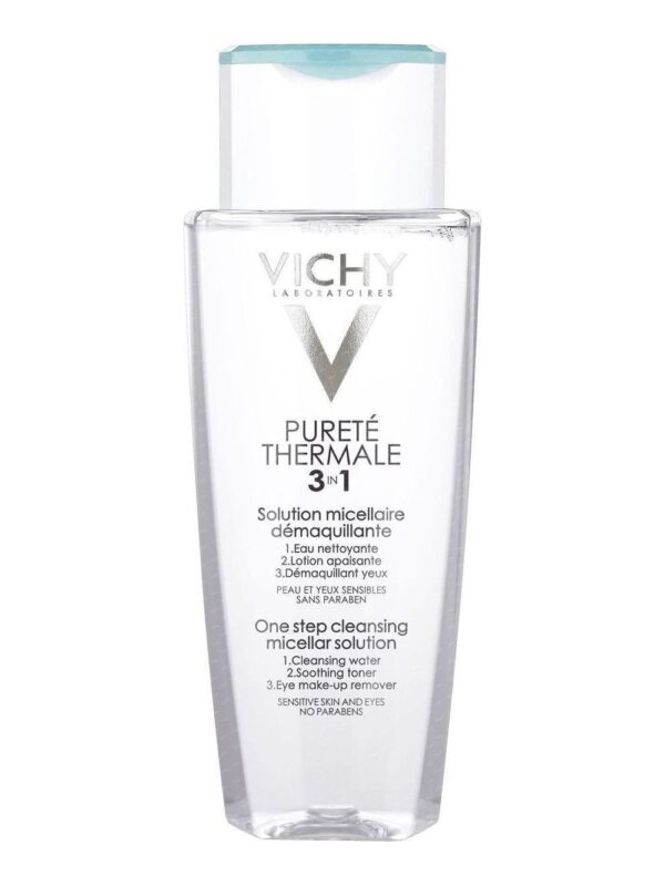 vichy purete thermale 3 in 1 one step cleansing micellar solution 200ml